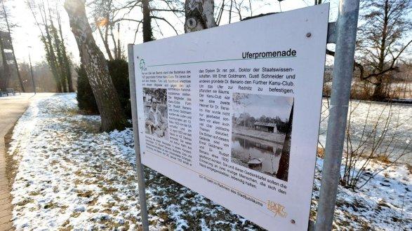 Gedenkveranstaltung an Rudolf Benario und Ernst Goldmann