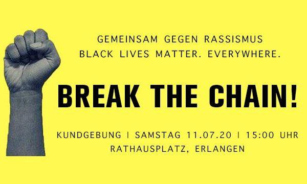 Kundgebung: Break the chain!