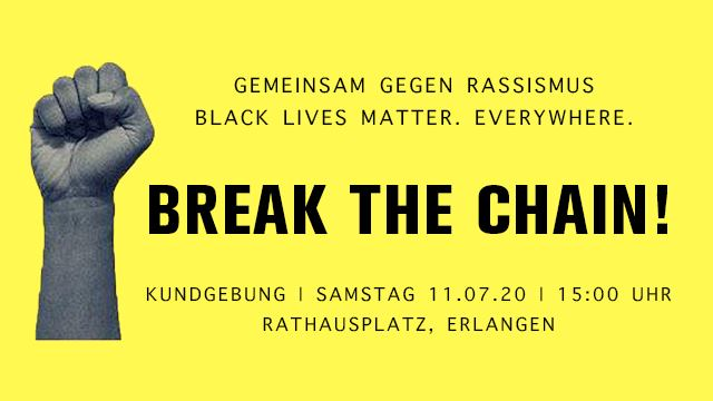 Kundgebung: Break the chain!