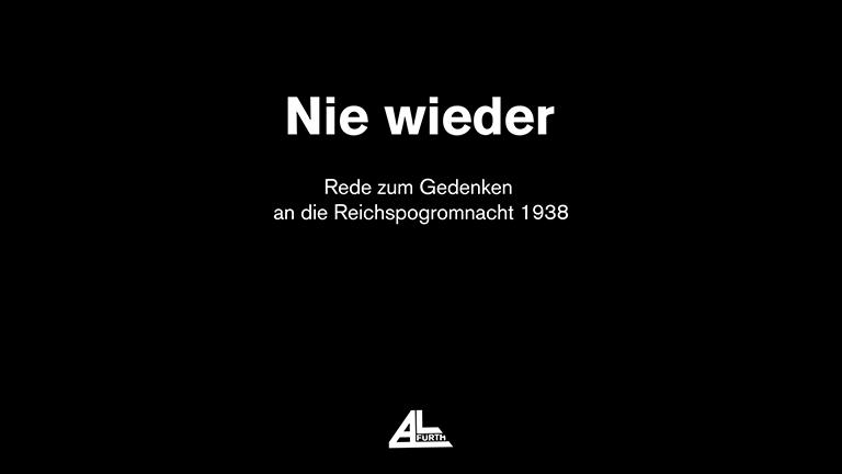 Unsere Rede zum Gedenken an die Reichspogromnacht am 9. November 1938